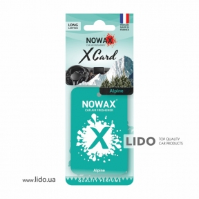Ароматизатор Nowax X Card Alpine