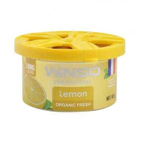 Ароматизатор Winso Organic Fresh Lemon, 40g