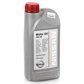Моторне масло Nissan Motor Oil 5w-40 1L