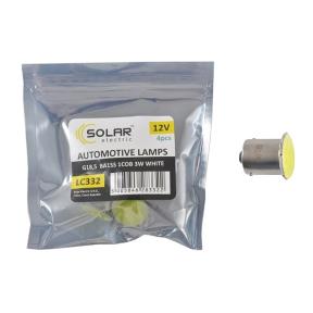 LED автолампа Solar 12V G18.5 BA15s 1COB 96LM white 4шт