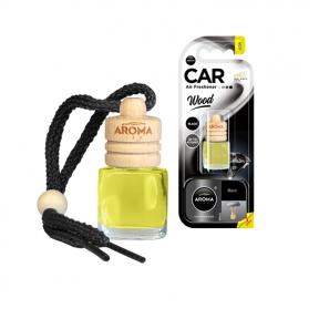 Ароматизатор Aroma Car Wood Black, 6ml