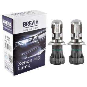 Биксеноновая лампа Brevia H4, 5000K, 85V, 35W P43t-38 KET, 2шт