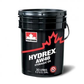 Гидротрансмиссионное масло Petro-Canada HYDREX AW 46 20L