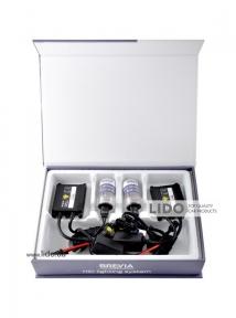 Комплект ксенона Brevia Н8 6000К + Super Slim Ballast