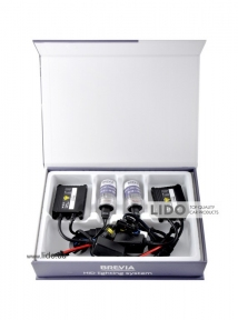 Комплект ксенона Brevia Н8 5000К + Super Slim Ballast