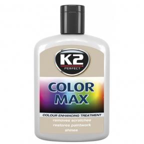 K2 COLOR MAX Полироль (серебряный) 200мл