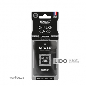 Ароматизатор Nowax Delux Card Cotton, 6g