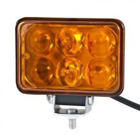 Автолампа светодиодная BELAUTO EPISTAR Amber LED (6*3w)