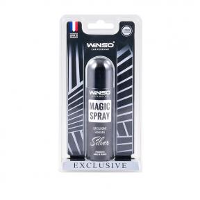 Ароматизатор Winso Magic Spray Exclusive Silver, 30ml