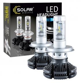 LED автолампа Solar H4 12/24V 6000Lm 50W Philips ZES
