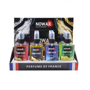 Ароматизатор Nowax Pump Spray MIX №1, 75ml, 12шт