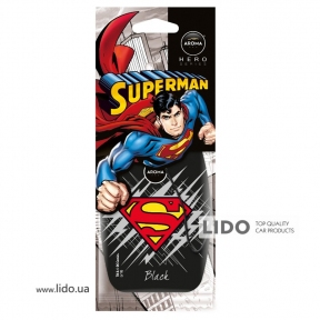 Ароматизатор Aroma Car Superman Black