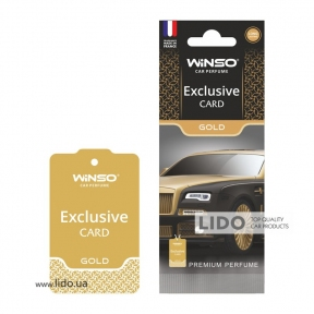 Ароматизатор Winso Card Exclusive Gold