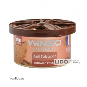 Ароматизатор Winso Organic Fresh Anti Tobacco, 40g