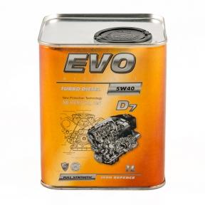 Моторне масло Evo Turbo Diesel D7 5w-40 CF 1L