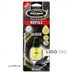 Сменный флакон Aroma Car Supreme Refill Black