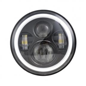 Автолампа светодиодная BELAUTO 10-60V, 60W 4*5W ETI+DRL