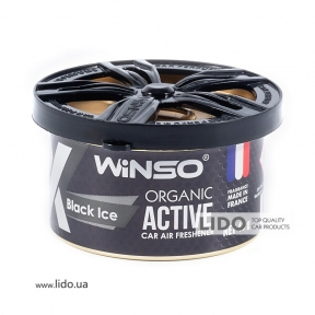 Ароматизатор Winso X Active Organic Black Ice, 40g