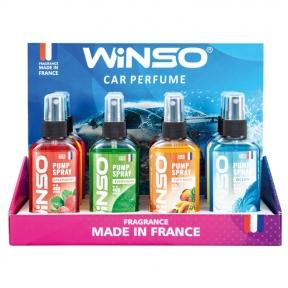 Ароматизатор Winso Pump Spray MIX №3, 75ml, 12шт