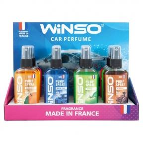 Ароматизатор Winso Pump Spray MIX №1, 75ml, 12шт