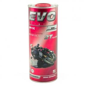 Моторне масло Evo Moto 2T Racing 1L червоний