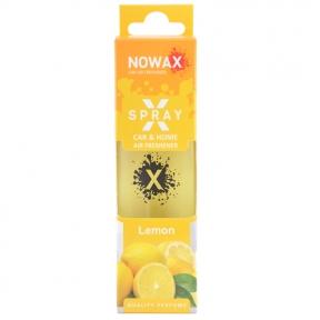 Ароматизатор Nowax X Spray Lemon в коробке