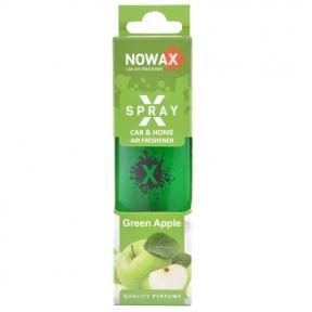 Ароматизатор Nowax X Spray Green apple в коробке