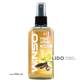 Ароматизатор Winso Pump Spray Vanilla, 75ml