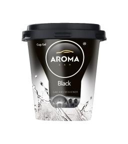 Ароматизатор Aroma Car CUP Gel Black, 130g