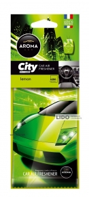 Ароматизатор Aroma Car City Card Lemon