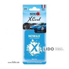 Ароматизатор Nowax X Card New Car