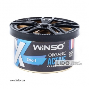 Ароматизатор Winso X Active Organic Sport, 40g
