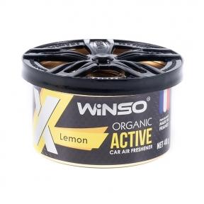 Ароматизатор Winso X Active Organic Lemon, 40g