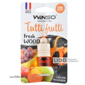 Ароматизатор Winso Fresh Wood Tutti Frutti, 4ml