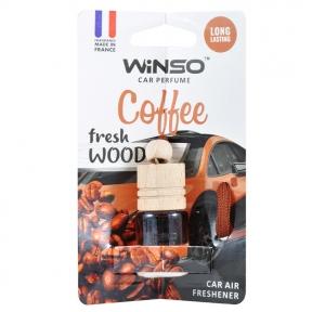 Ароматизатор Winso Fresh Wood Coffee, 4ml