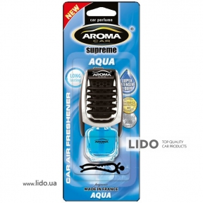 Ароматизатор Aroma Car Supereme Slim Aqua, 8ml