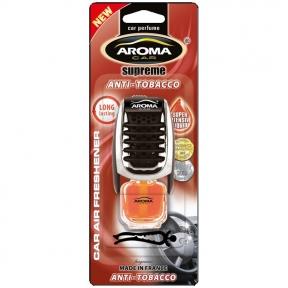 Ароматизатор Aroma Car Supereme Slim Anti Tabacco, 8ml