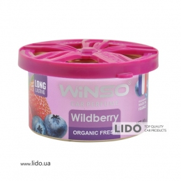 Ароматизатор Winso Organic Fresh Wildberry, 40g
