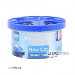 Ароматизатор Winso Organic Fresh New Car, 40g