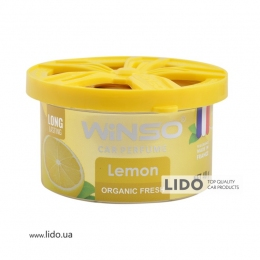 Ароматизатор Winso Organic Fresh Lemon, 40g