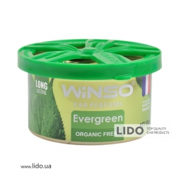 Ароматизатор Winso Organic Fresh Evergreen, 40g