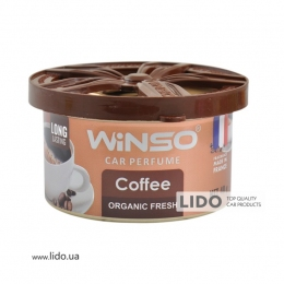 Ароматизатор Winso Organic Fresh Coffee, 40g