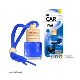 Ароматизатор Aroma Car Wood New Car, 6ml