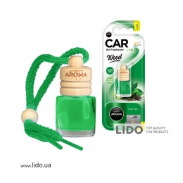 Ароматизатор Aroma Car Wood Green Tea, 6ml