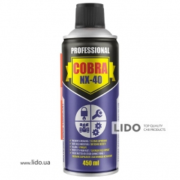 Nowax Спрей многофункциональный, MULTIFUNCTIONAL LUBRICANT COBRA NX-40, 450ml