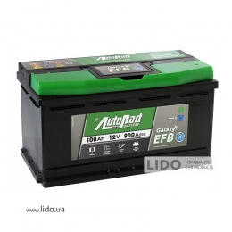 Акумулятор Autopart Galaxy EFB_Start-Stop 100 Ah/12V [- +]