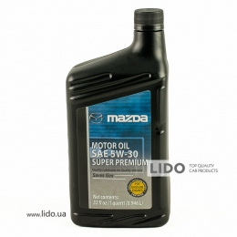 Моторное масло Mazda Super Premium 5w-30 1qt (946 ml)