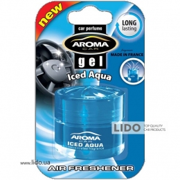 Ароматизатор Aroma Car Gel 50ml - ICED AQUA