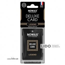 Ароматизатор Nowax Delux Card Legend, 6g