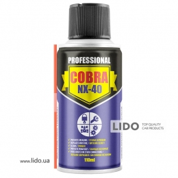 Nowax Спрей многофункциональный, MULTIFUNCTIONAL LUBRICANT COBRA NX-40, 110ml